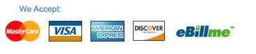 Discover, Visa, American Express